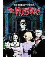 The Munsters  The Complete Series (DVD Set) Classic TV Show - $45.55