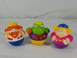 Playskool Weeble Wobbles king queen frog prince figure Lot (ch - $13.86
