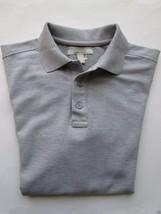 Nordstrom Handsome Short Sleeve Men's Polo T-Shirt Heather Gray S - $24.73