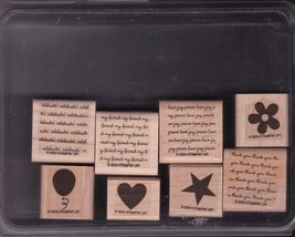 StampIn Up Two Step Stampin Mini Messages - Lightly Used 2004 Retired - $12.95
