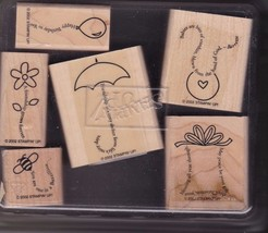 StampIn Up  The Fine Print - Lightly Used 2002 Retired - $12.95
