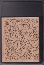 StampIn Up Soft Swirls - New 2002 Retired - $13.95