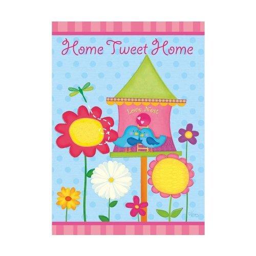 "Home Tweet Home ~ Small Garden Flag 12 "" X 18"" - $11.02"
