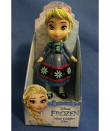Toys New Disney Princess Mini Toddler Frozen Young Elsa Doll 4 inches - $8.95