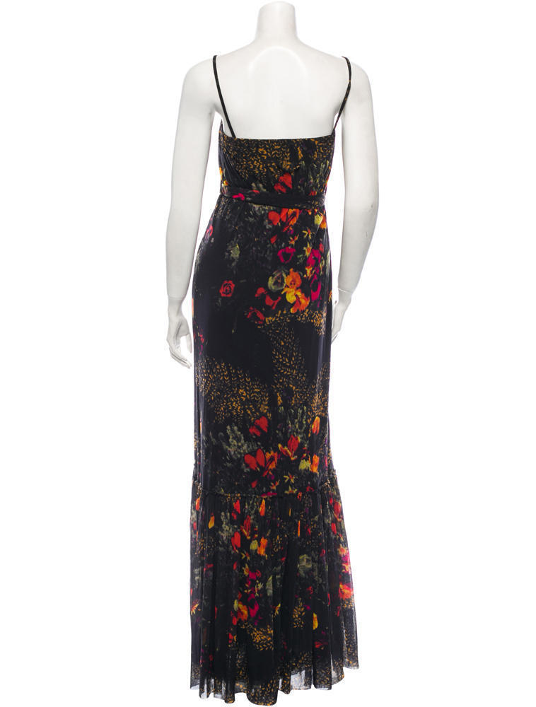GORGEOUS NEW $1,095 FLORAL JEAN PAUL GAULTIER MESH DRESS (NWT)
