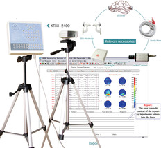 KT88-2400 Digital EEG Mapping System 24-channel,EEG machine,2 tripod+Sof... - $1,839.09
