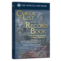 Check List and Record Book of United States Paper Money (Official Red Bo... - $3.89