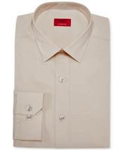 Alfani Antique White Slim Fit Long Sleeve Dress Shirt - Size 16 16 1/2 -... - $19.95
