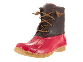 New Sperry Saltwater Cognac/Red 7.5 Womens Boots - $85.16