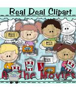Movie Littles Clip Art - $1.25