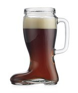 Recycled Glass Oktoberfest Beverage 23 Oz Mug Pitcher Drinking Beer Das ... - $14.01