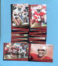1993 Score Select San Francisco 49ers Football Set - $4.00
