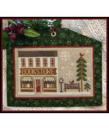 Bookstore #13 Hometown Holidays cross stitch Little House Needleworks - $5.40