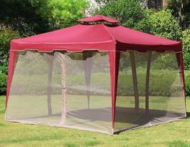 """117""""x 117"""" Gazebo Mesh Mosquito Netting Net for Patio Outdoor Garden Can... - $99.99"""