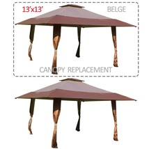 "153"" x 153"" Gazebo Replacement Canopy Top Cover Outdoor Patio Sun Shade ... - $59.99"