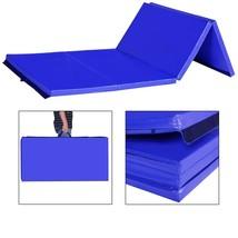 "4' x 8' x 2"" Gymnastics Gym Folding Exercise Mat Gym Yoga Panel Fitness ... - $79.99"