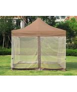 9.8 x 9.8 Ft Gazebo Mesh Mosquito Netting for Patio Outdoor Garden Canop... - $57.99