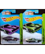 Hot Wheels '70 Plymoouth AAR CUDA Green & Purple Variant HW WORKSHOP 2015 - $8.54