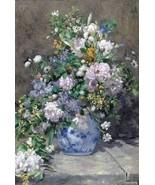 Auguste Renoir [Bouquet of Spring] 1000 pcs Jigsaw TOMAX Art Vintage Pai... - $23.36