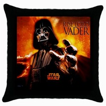 NEW Darth Vader Star Wars Cushion Cover Throw Pillow Case - $15.00