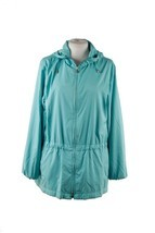 Authentic LORO PIANA Turquoise LIGHT WEIGHT PADDED JACKET Cashmere linin... - $606.06 CAD