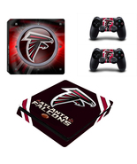 PS4 Slim Console Dualshock Skin Atlanta Falcons... - $12.00