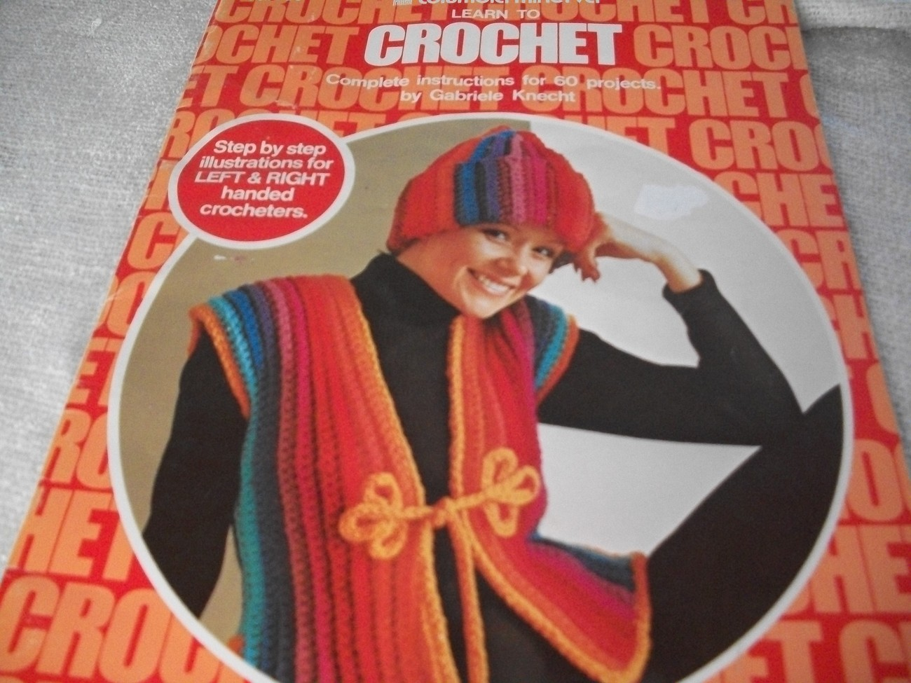 Learn To Crochet Book - $18.00