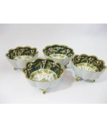 (4) Rare Antique Japanese Nippon 3 Footed Bowls... - $79.00
