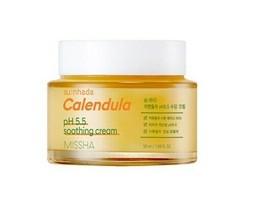 [MISSHA] Sunhada Calendula pH 5.5 Soothing Cream - 50ml Korea Cosmetic - $26.99