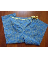 Charter Club Golf Collection Size 10 Side Zip Cropped Length Fruit Print... - $19.55