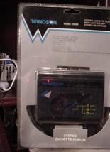 Windsor CS-404 Stereo Cassette Player with Stereo Headphone NIP - $39.95