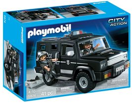 PLAYMOBIL Tactical Unit Car New in Box 41 pc Ne... - $25.73