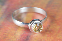 Beautiful Faceted Citrine Gemstone Sterling Sil... - $14.99 - $16.99