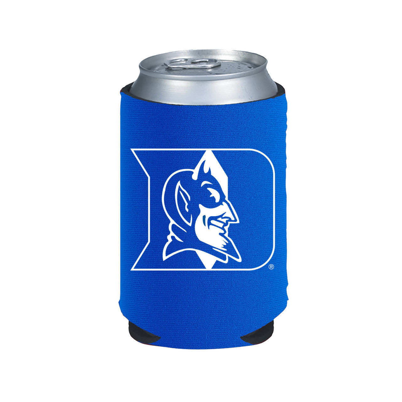 DUKE BLUE DEVILS BEER SODA WATER CAN BOTTLE KOOZIE KADDY HOLDER NCAA