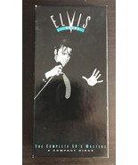 ELVIS THE KING OF ROCK 'N' ROLL The 50's Masters NEW 5 CD Box Set with B... - $29.65