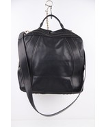 Authentic FENDI Italian VINTAGE Black Leather T... - $683.10