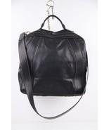 Authentic FENDI Italian VINTAGE Black Leather T... - $683.10