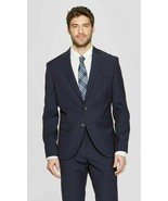 42R NEW Goodfellow & Co Men's Slim Fit Suit Jacket Navy Voyage nwt 2 piece - $76.44