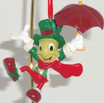 Disney Jiminy Cricket Ornament Holiday Tree Theme Parks Pinocchio New - $34.95