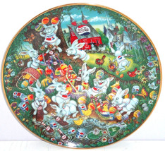 Pepsi Cola Collector Plate Easter Greeting Franklin Mint Vintage Retired  - $59.95