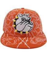 Bulldog Men's Adjustable Snapback Baseball Cap with Bling RED - $9.95