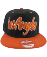 Los Angeles Men's Adjustable Snapback Baseball Cap Black/Red - $9.95