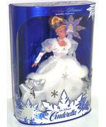 Disney Cinderella Doll Holiday Edition Vintage 1996 Mattel White Dress - $129.95