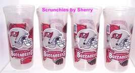 Tampa Bay Buccaneers Drinking Cup Glass Football NFL Plastic Tailgating ... - $34.95