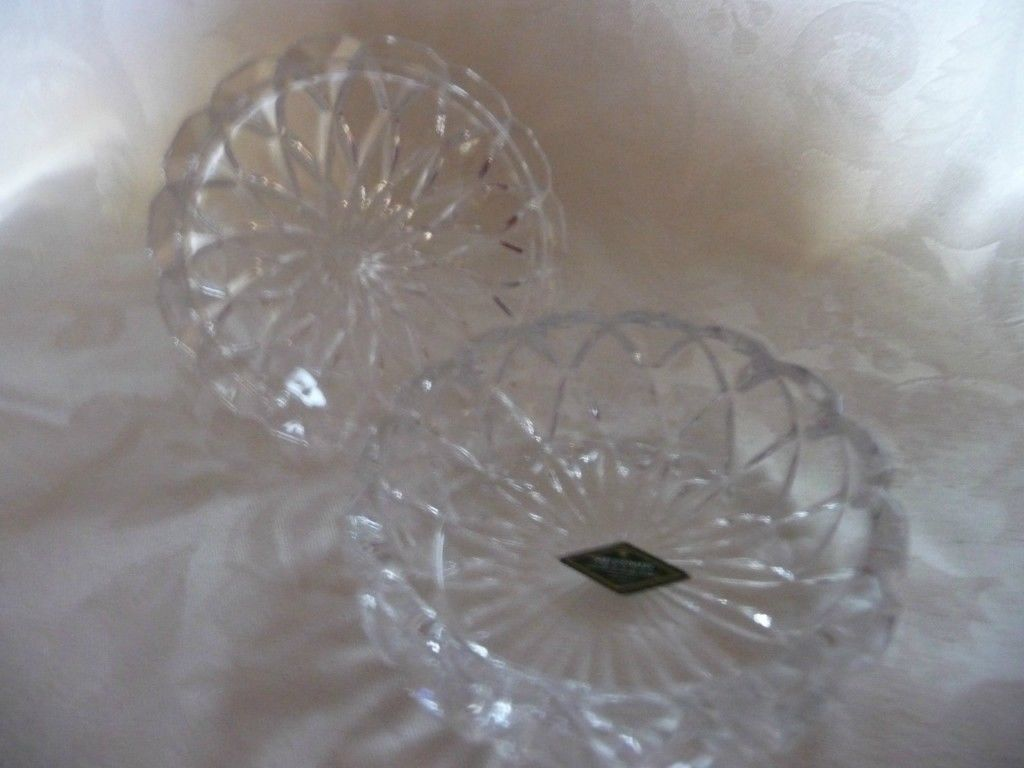 Shannon Irish Chrystal Candy Dish in shape of Hershey Kiss/GREAT FOR MOTHER'S DA