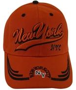 New York City NYC NY Men's Adjustable Curved Brim Baseball Cap Hat RED - $9.95