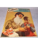 Vintage Colliers Magazine December 25 1943 Amer... - $9.95