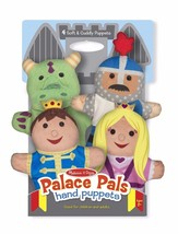 New 4pc Melissa & Doug Bold Buddies Hand Puppets Kid Role Pretend Fantas... - $22.28