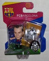 SoccerStarz Barcelona Andres Iniesta Home Kit 2016-17 - $7.00