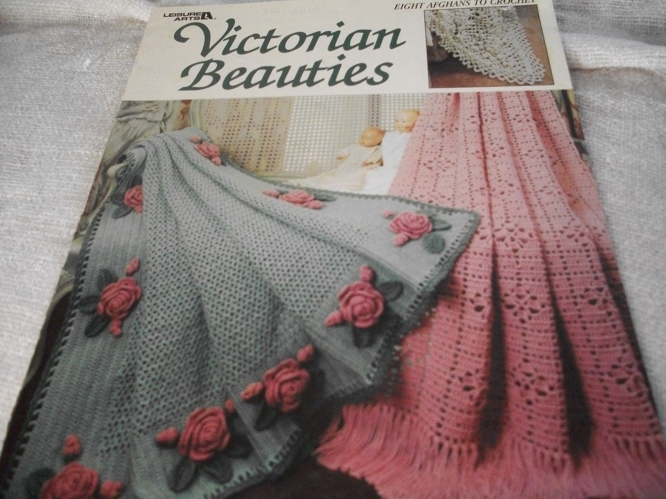 Primary image for Victorian Beauties: Afghans to Crochet